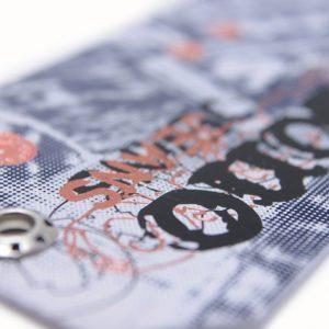 Etiquetas colgantes, hangtags para presentar tu imagen de marca.