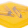 Etiqueta plástico microinyección