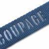 Tira de algodón grabado para jeans