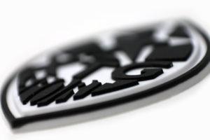 Etiqueta de microinyección con forma especial