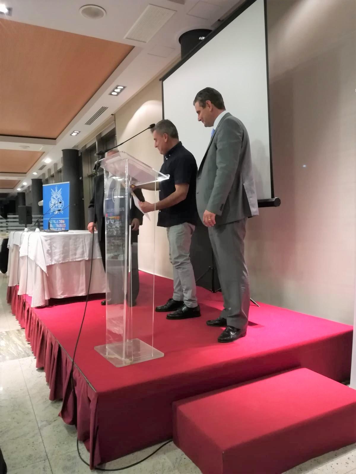 Recogida premio Varmys